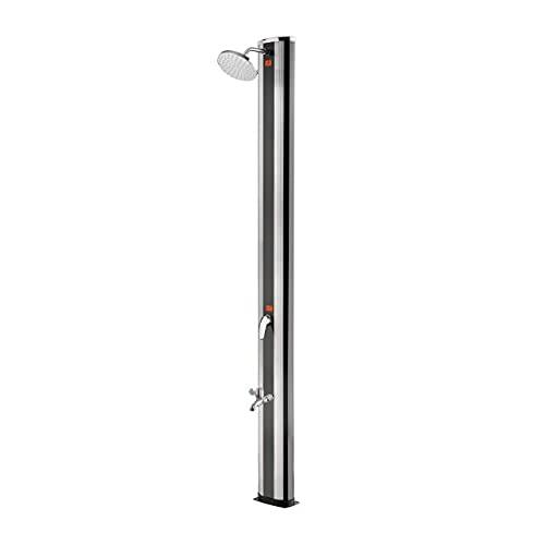 well2wellness® Aluminium Solardusche Gartendusche 'High Class'...