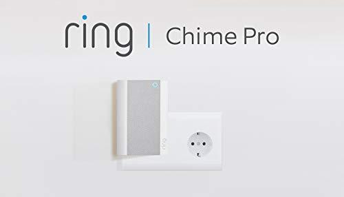 Der neue Ring Chime Pro, Weiß