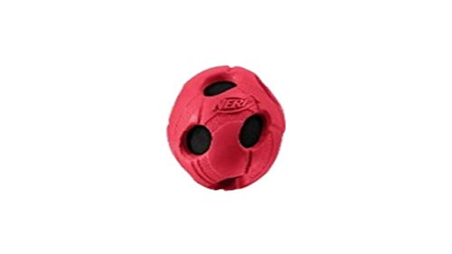 Nerf Dog Hundespielzeug Fussball mit Quietschgeräusch, farblich...