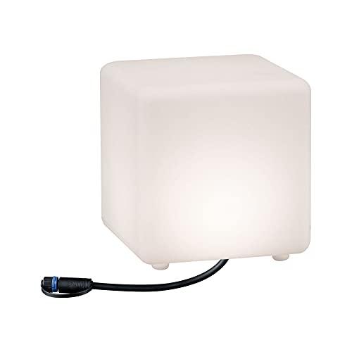 Paulmann 941.80 Outdoor Plug & Shine Lichtobjekt Cube IP67 3000K...