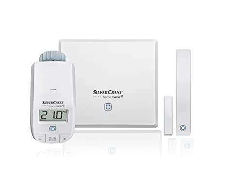 Silvercrest Smart Home Heizen Starter Set via APP by Homematic...