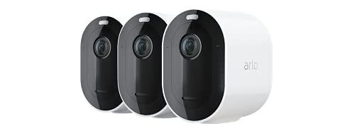 Arlo Pro4 Spotlight WLAN Überwachungskameras | Kabellos, Innen /...