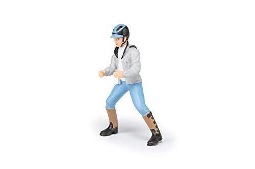 Papo 52008 Junger Reiter Pferde, FOHLEN UND PONYS Figur,...