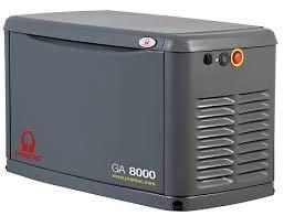 Pramac GA8000 Stromerzeuger für Elektrogene, sehr leise, mit Gas...