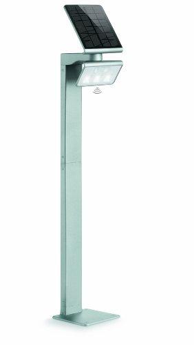 Steinel LED Solarleuchte XSolar GL-S silber, höhenverstellbar,...