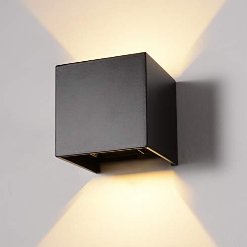 INHDBOX 12W LED Wandleuchte Aussen Wandlampe Außenlampe Mit...