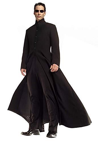 Lovelegis Neo Matrix Kostüm Jacke und Hose - Verkleidung -...
