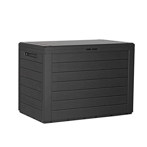 Kreher Kompakte Kissenbox/Aufbewahrungsbox in Anthrazit mit 190...