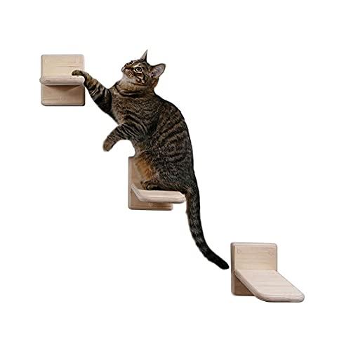 LEPSJGC 3 Stück Katze Kletterspielzeug Wandmontierte Katzen...