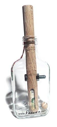 kasuro Flaschensafe Schraube personalisiert mit eingebranntem...