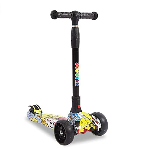 ZHZHUANG Tragbare Kinder Scooter Freestyle Ultra-Lightweight 1...