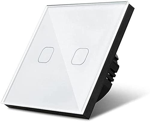 LXDZXY Touch Lichtschalter Wasserdicht 1/2/3 Gang Licht Touch...