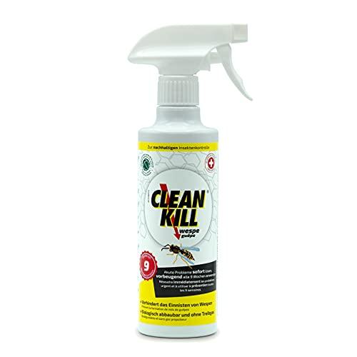 CLEAN KILL Wespenspray | Sofort- und Langzeitwirkung über 2...