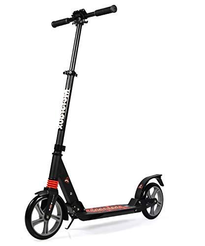MOTORAUX 200MM Wheel Scooter, Klappbarer City-Roller...