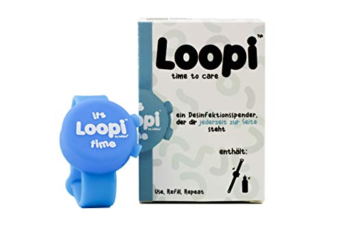 Loopi - Desinfektionsarmband by LullyLu™ Selfcare (Blau)