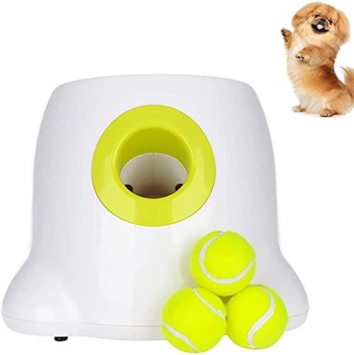 AKSTRN Automatischer Ball Launcher Hundespielzeug Interaktiver...