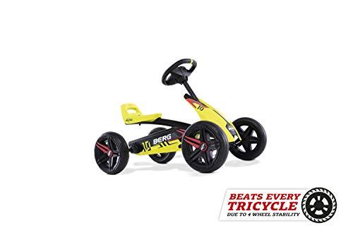 BERG Gokart Buzzy Aero | Kinderfahrzeug, Tretauto, Sicherheid und...