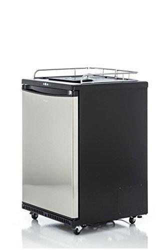 Fassbierkühlschrank für max 50l Fässer auf Rollen mit...