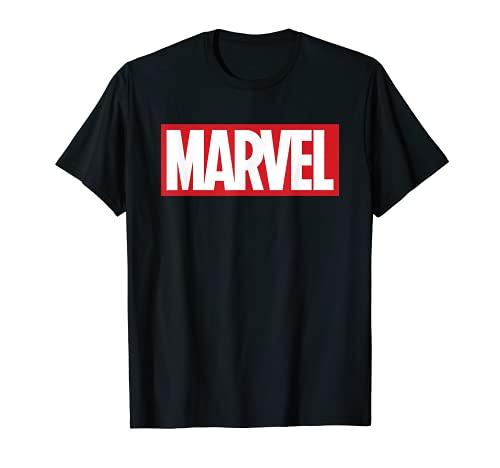 Marvel Classic Bold Logo Graphic T-Shirt