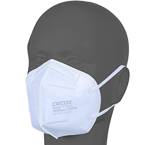 AUPROTEC 50 Stück FFP2 Maske Atemschutzmaske EU CE 0370...
