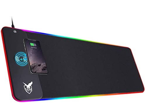 ICETEK RGB Gaming Mauspad XXL LED Mousepad Großes 800 x 300 x...