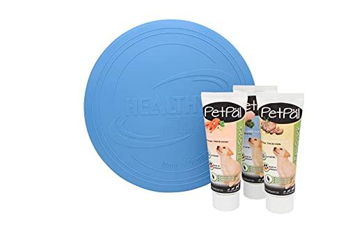 PetPäl Hunde Spielzeug aus TPE-Gummi + Probierset TuboSnack, die...