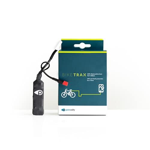 PowUnity GPS-Tracker für E-Bikes BikeTrax (Diebstahlalarm,...