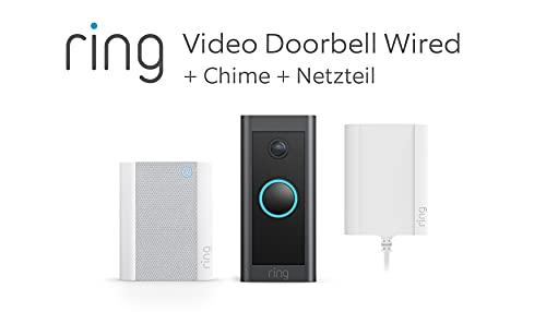 Wir stellen vor: Ring Video Doorbell Wired + Netzteil und Chime...