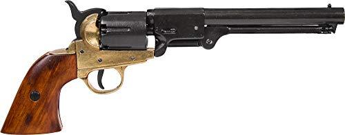 Denix Erwachsene Revolver Marine USA 1851 Gefälschte...