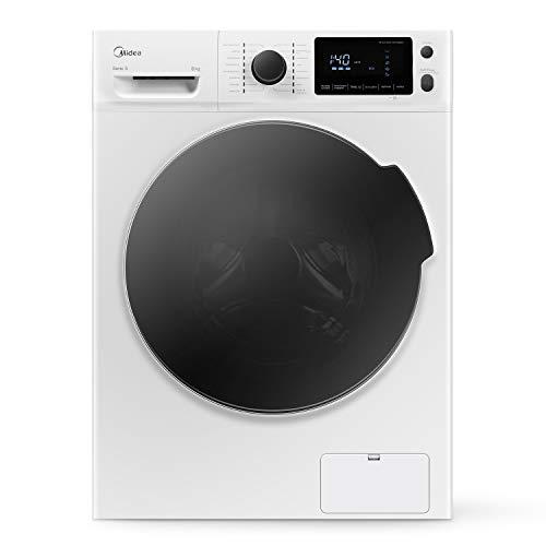 Midea Waschmaschine W 5.840 / 8 kg Fassungsvermögen /...