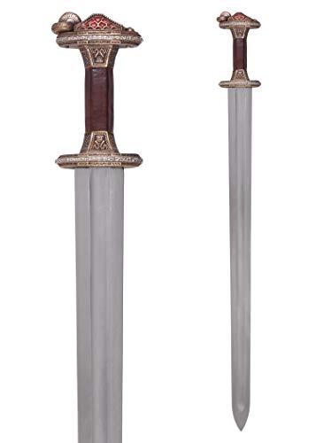 Battle-Merchant Vendelzeit-Schwert mit Scheide   Mittelalter...