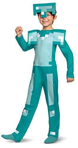 Minecraft DISK11458K Kostüm, Jungen, Diamant, M
