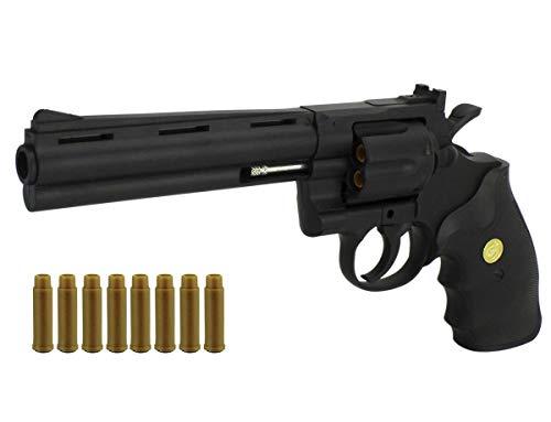 KOSxBO Softair Revolver 6mm BBS - Airsoft Pistole + Munition +...