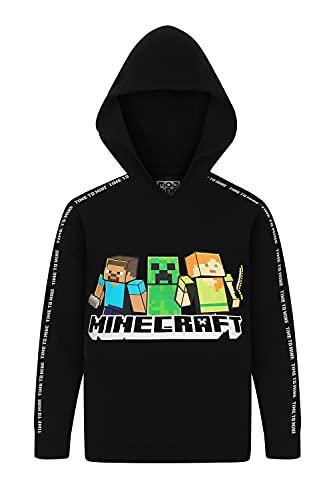 Offizieller Minecraft Time To Mine Kapuzenpullover, für Jungen,...