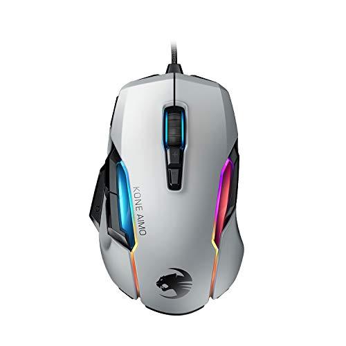 Roccat Kone AIMO Gaming Maus (hohe Präzision, Optischer Owl-Eye...