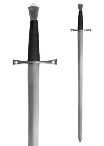 Battle-Merchant Mittelalterliches Schwert Einhänder aus Stahl...