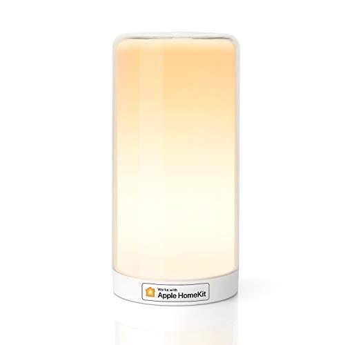 WLAN LED Nachttischlampe funktioniert mit Apple HomeKit, Meross...