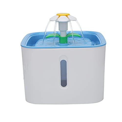 Zuoox Wasserspender für Haustiere, Wasserspender Springbrunnen,...