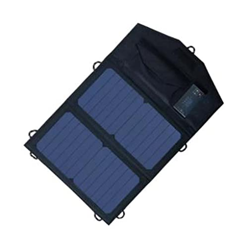 N//B Solar Powerbank Solarpanel Solar Ladegerät Mit 2 Solarpanel...