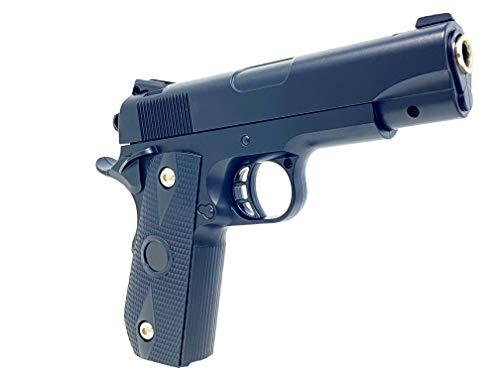 Softair Pistole Airsoft Gun Black-Silver 22cm Spielzeug Waffe...