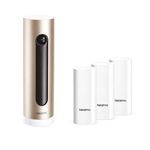 Netatmo Set Smarte Überwachungskamera Innen + Smarte Tür- und...