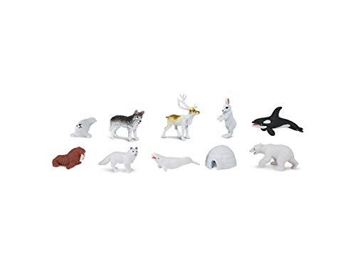 Miniblings 8X Alaska Set Iglu Eisbär Figuren Arktis Tiere...