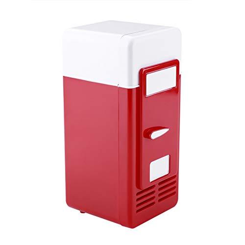 VBESTLIFE Mini-USB-Kühlschrank, tragbarer USB-Kühlschrank,...