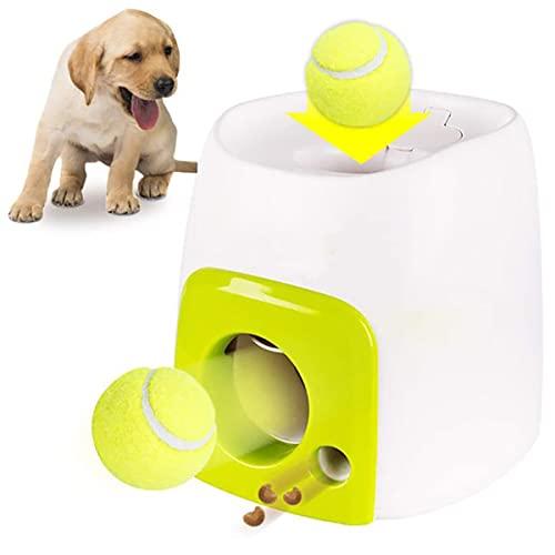 GHqY Pet Feeder Toys, Outdoor Hunde Interaktive Ballwerfer...