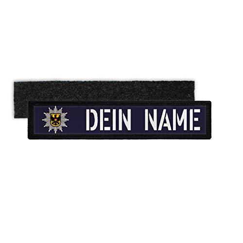 Copytec Patch Namens-Schild BPOL Klett Streifen Uniform...