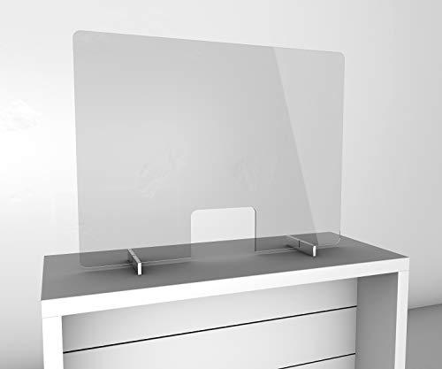 Spuckschutzwand 1000 x 750 mm für Theke, Kassenbereich und...