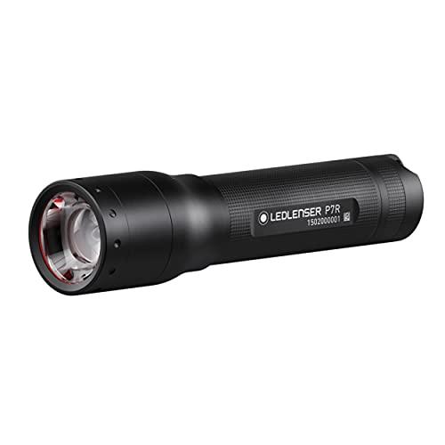 Ledlenser P7R LED Taschenlampe, fokussierbar, wiederaufladbar,...