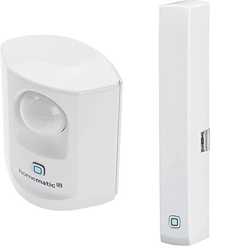 Homematic IP Smart Home Bewegungsmelder mit Dämmerungssensor –...