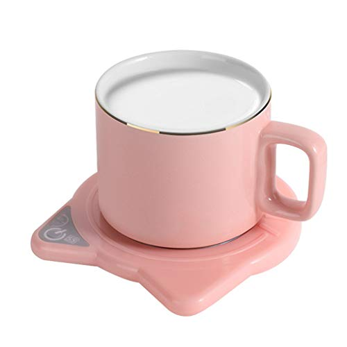 Ixkbiced Niedliche Katze Kaffeetasse Wärmer Pad & Tassen Elektro...