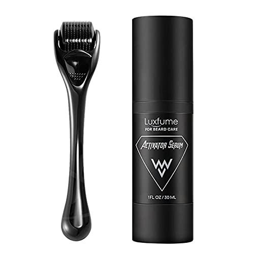 WeBetter Bartwachstum Kit, Bartwuchs-Roller Natürliches...